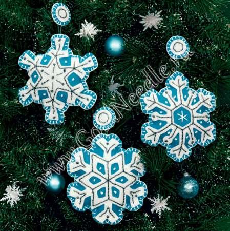 Набор сделай сам снежинки