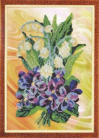 Ландыши - Вышивка - Галерея работ - Украшения из бисера.