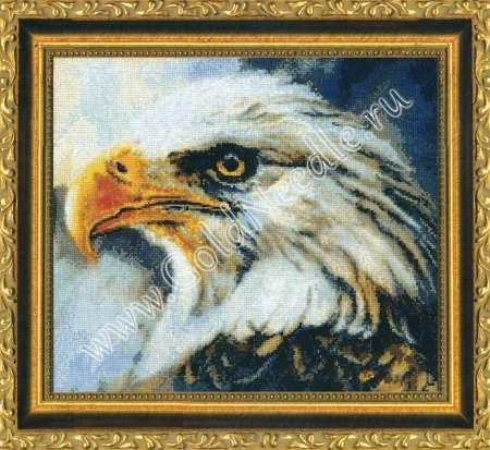 Вышивка крестом два орла 10