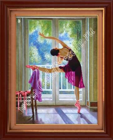 Алмазная вышивка балерины